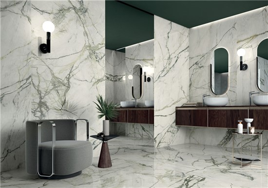 MARBLE στο manetas.net με ποικιλία και τιμές σε πλακακια μπάνιου, κουζίνας, εσωτερικου και εξωτερικού χώρου lea-synestesiacalacattaemerald.jpg