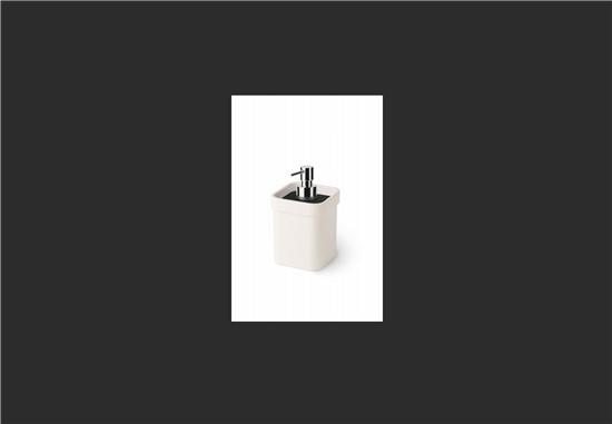 ΕΞΟΠΛΙΣΜΟΣ ΜΠΑΝΙΟΥ στο manetas.net με ποικιλία και τιμές σε πλακακια μπάνιου, κουζίνας, εσωτερικου και εξωτερικού χώρου lineabeta-dosasapone-bianconero-.jpg